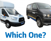 Two potential options for Vans for moving house